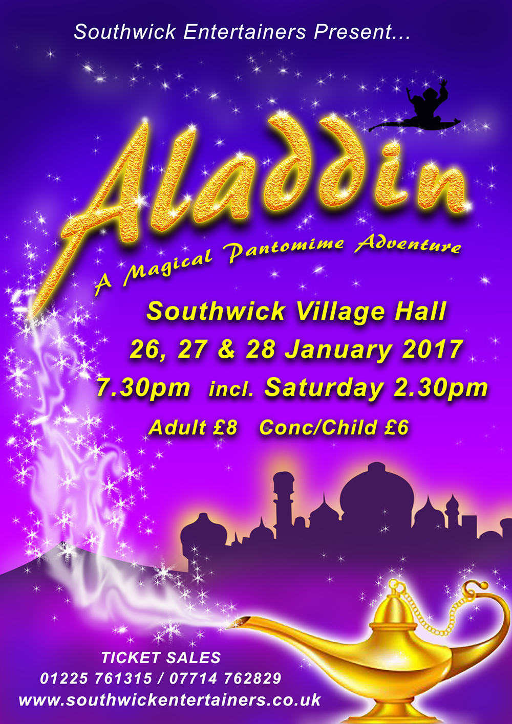 Recent Panto Posters